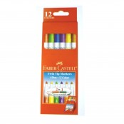 Faber Castell Twin Tip Marker 6's