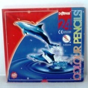 Dolphin colour pencil 24's DOL-2624F