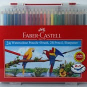 Faber Castell wonder box 24's water colour pencil 114564