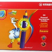 Stabilo jumbo colour pencil 24's 1879J